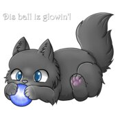 Wolfy's Glow Ball (No BG)